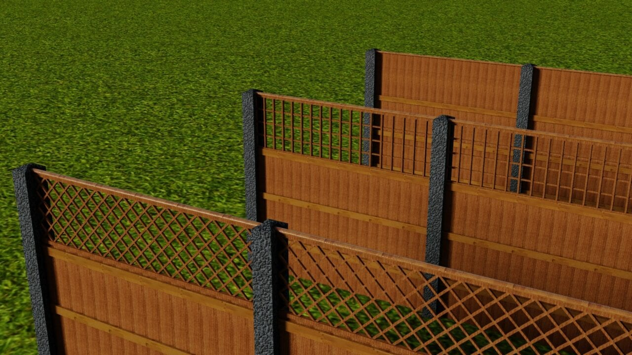 How to build a fence in revit
