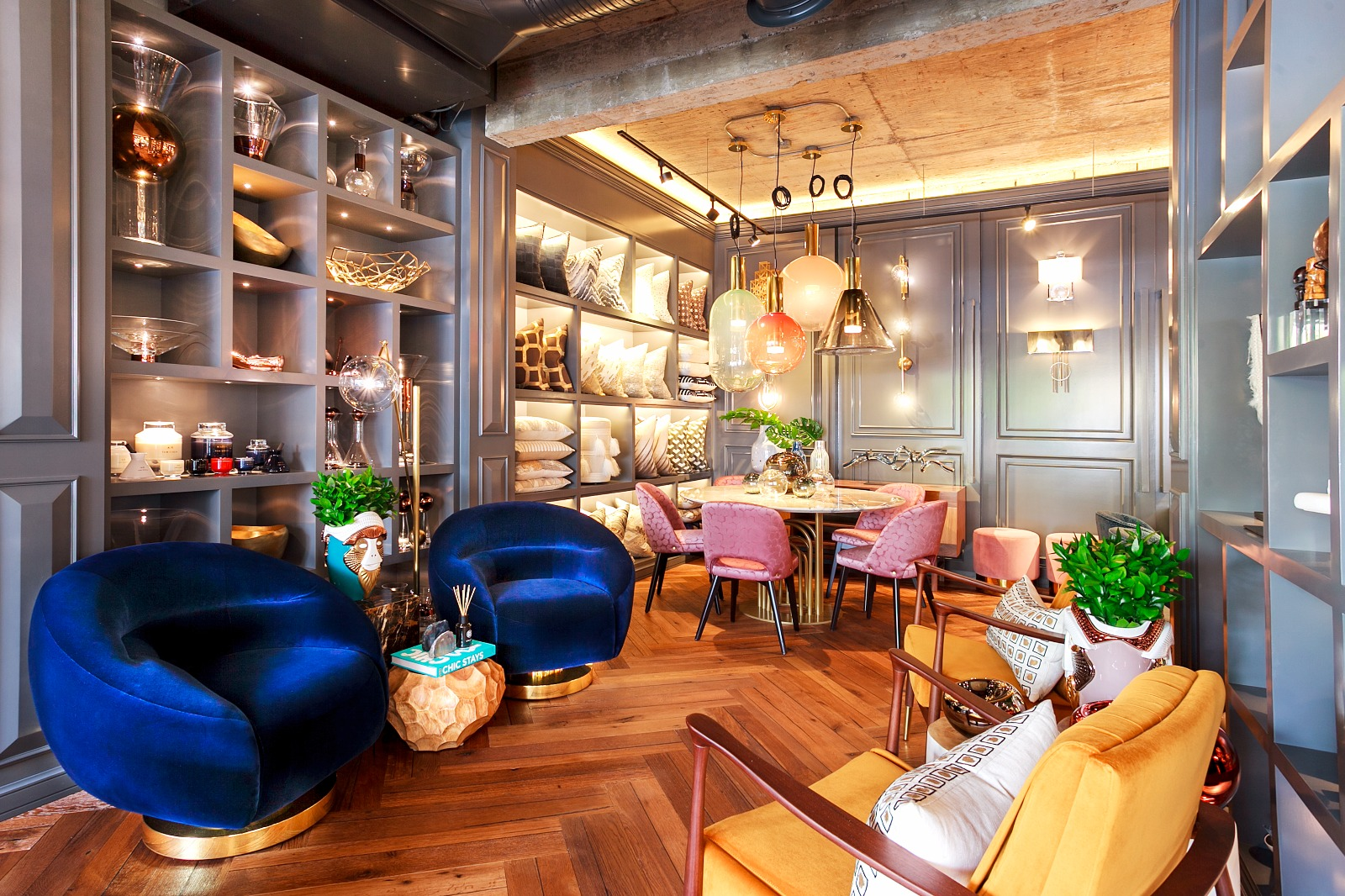 This Interior Design Showroom Boasts The Best Of Mid