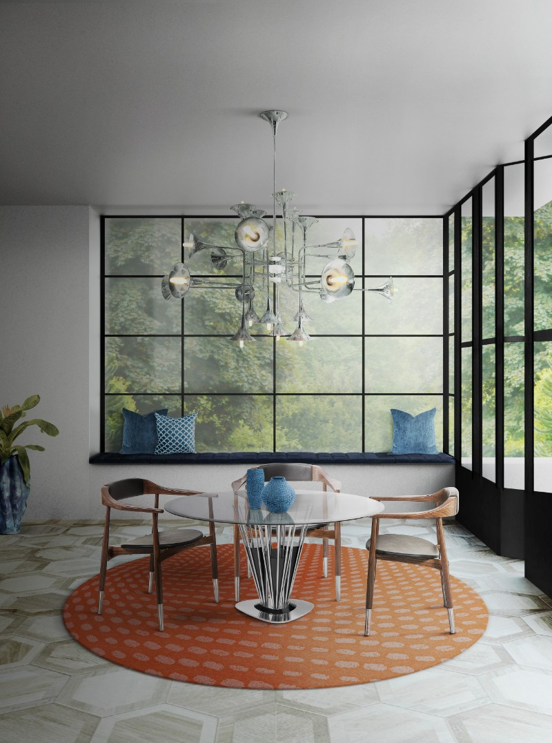 A Touch Of Life With Mid Century Modern Rugs