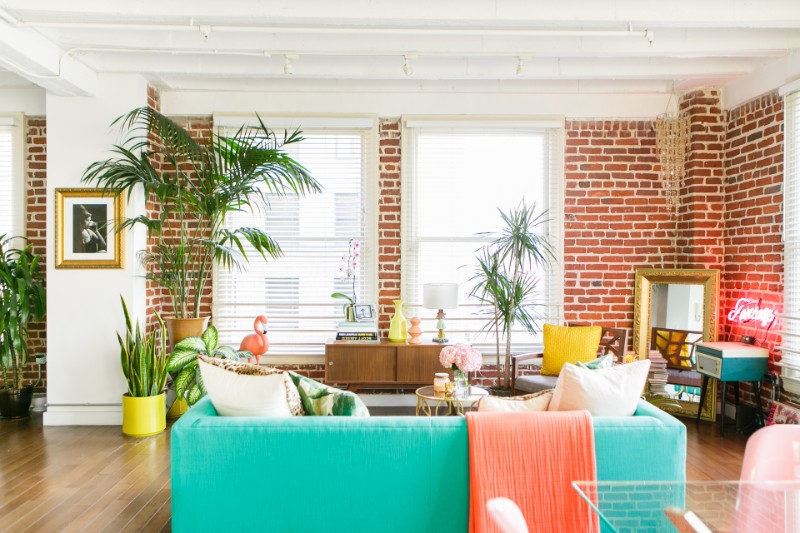 amazing colorful living rooms