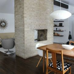 Brick Floor Kitchen Costco Appliances How To Makeover You House In A Midcentury Modern Style ...