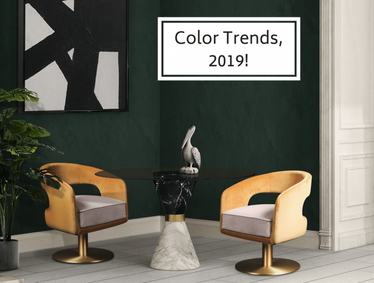 Color Trends 2019 Home Interior