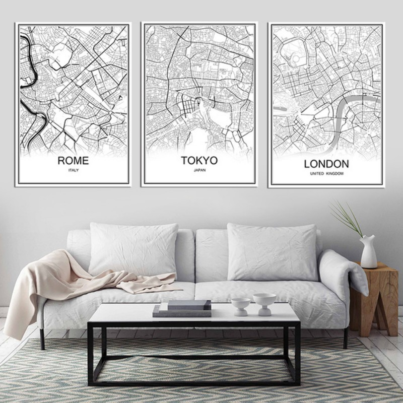 living room art wall beach decor for 10 vintage lifestyle posters inspirations