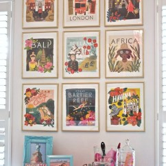 Ideas For Living Room Wall Art Open Plan Design Decor 10 Vintage Lifestyle Posters Inspirations