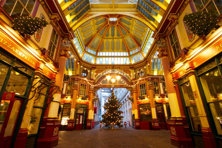 Christmas at Leadenhall Market