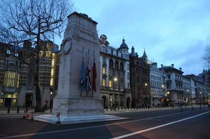The Cenotaph in Whitehall – London's most special monument