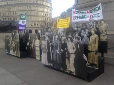 'Deeds not words' – the centenary of Votes for Women in the UK