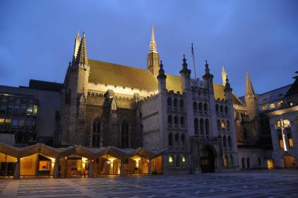The City of London Guildhall – the grandmother of all parliaments!