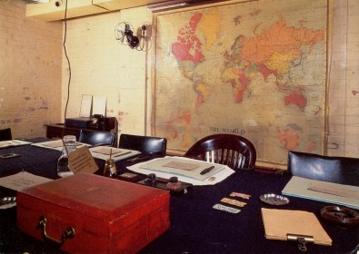 Churchill Cabinet War Room
