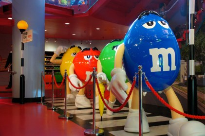M&M's World and the LEGO Store in London – payback time for the kids!