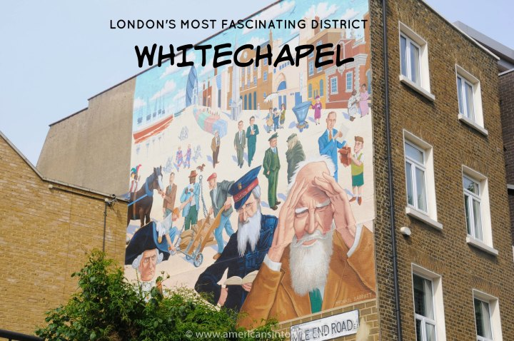 Whitechapel mural