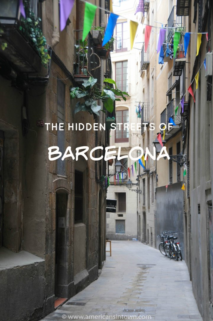 Hidden streets of Barcelona