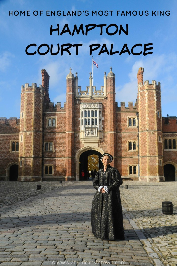Hampton Court Palace – home of England's most famous king