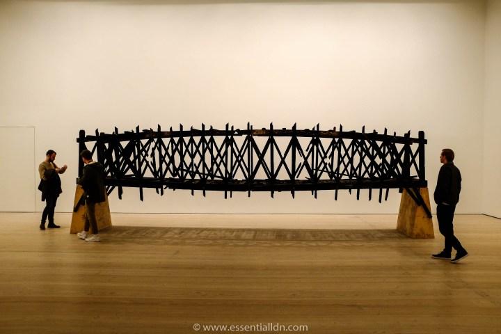 Black Mirror; Burned Bridge (2012) by Marianne Vitale