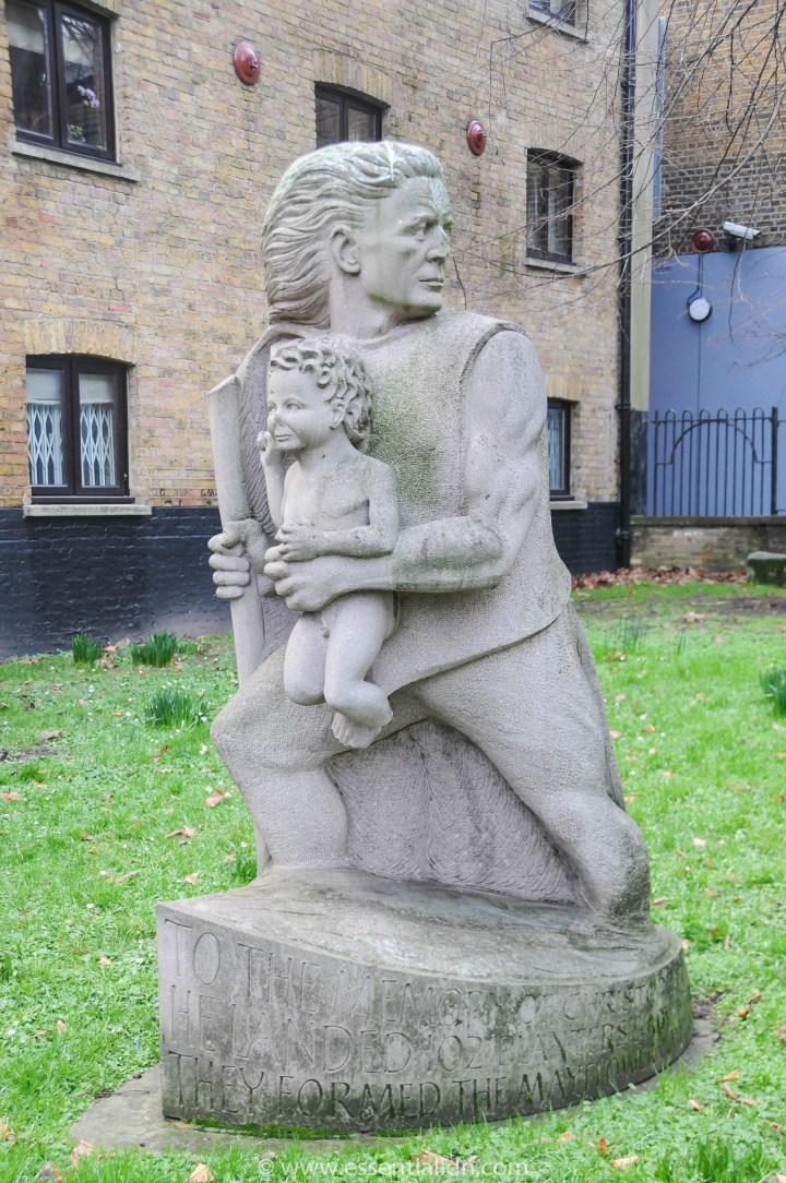 St Mary's Church Captain Christopher Jones