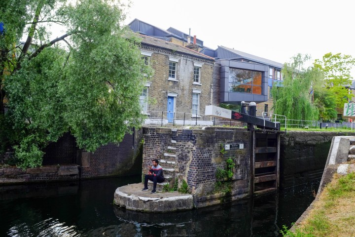 Old Ford Lock, South Hackney