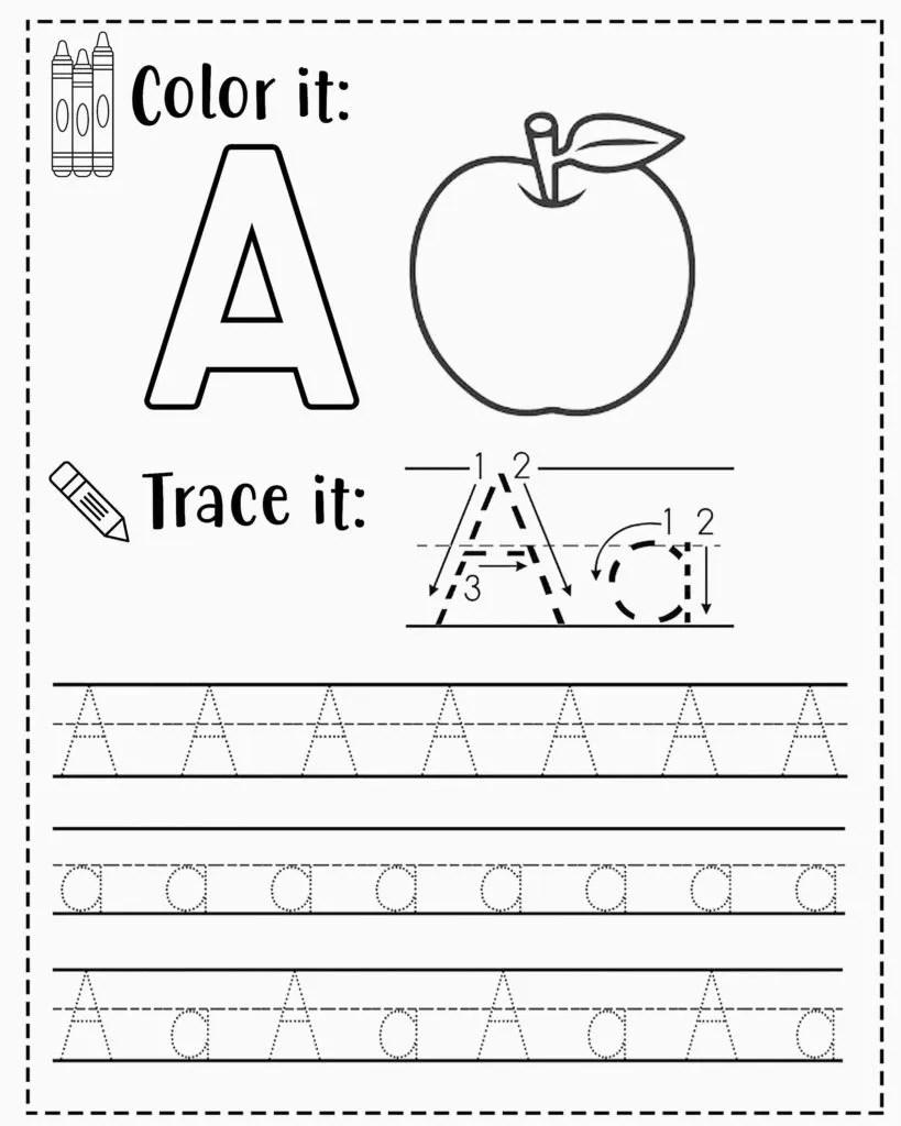 medium resolution of FREE Alphabet Tracing Worksheets for Preschoolers
