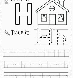 FREE Alphabet Tracing Worksheets for Preschoolers [ 1024 x 819 Pixel ]