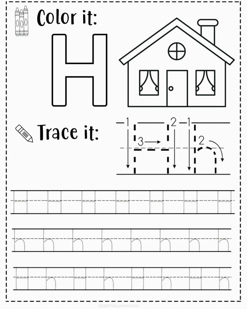 hight resolution of FREE Alphabet Tracing Worksheets for Preschoolers