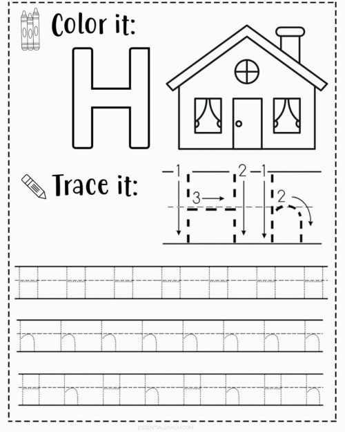small resolution of FREE Alphabet Tracing Worksheets for Preschoolers