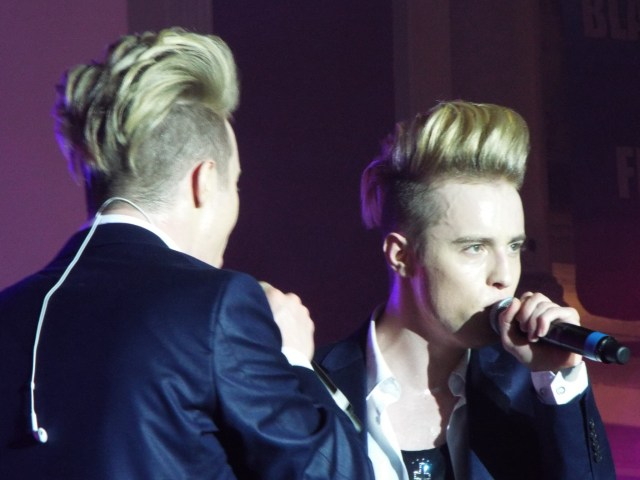 Jedward at Blackpool Pride