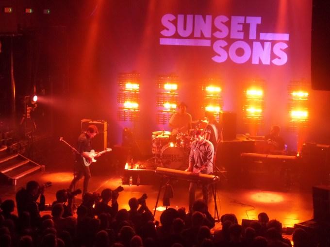 Sunset Suns at KOKO - Photo Credit Steve Holley