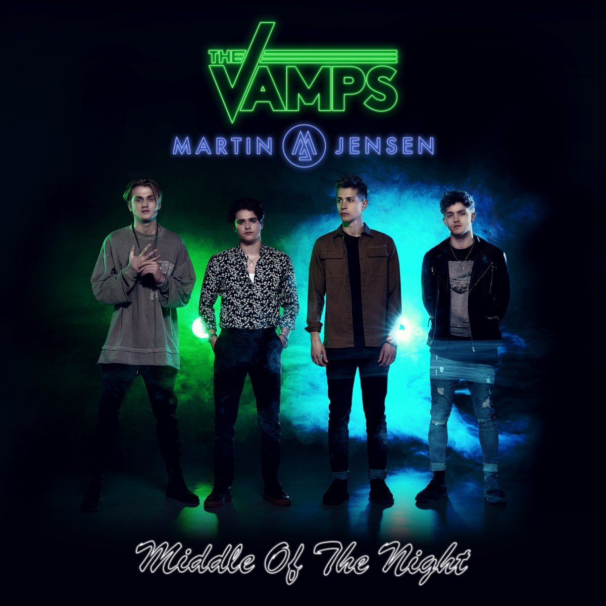 THE VAMPS ANNOUNCE NEW SINGLE  'MIDDLE OF THE NIGHT'  OUT FRIDAY 28TH APRIL