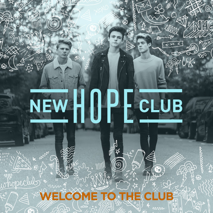 New Hope Club Release Debut EP, 'Welcome To The Club'