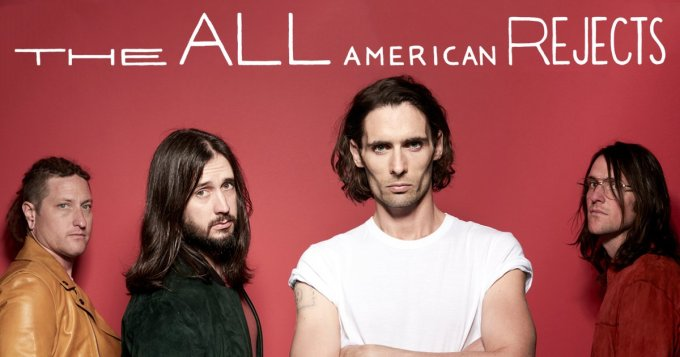 all american rejects are back with 2 track ep sweat. Black Bedroom Furniture Sets. Home Design Ideas