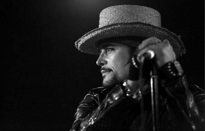 Adam Ant - photo credit Simon Godley