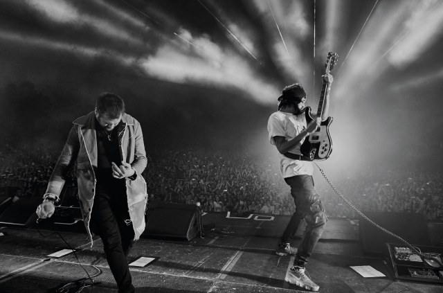 Kasabian Live - Photo Credit: Neil Bedford