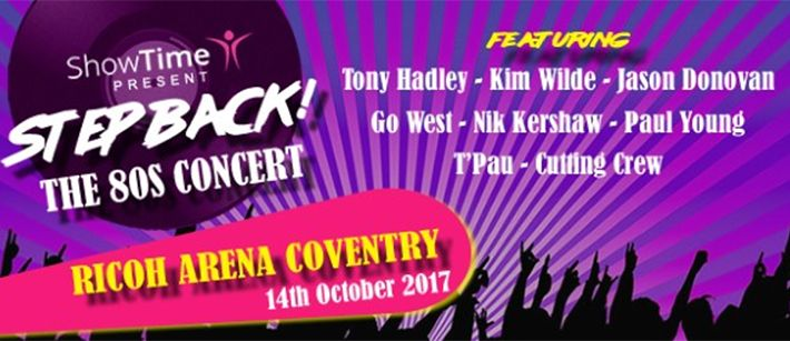 Coventry Steps Back To The 80s With Huge Concert At Ricoh Arena