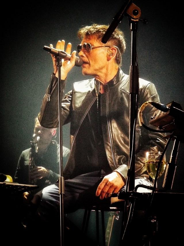 a-ha at London's O2 Arena 14 February 2018. Photo credit: Lisa Hafey