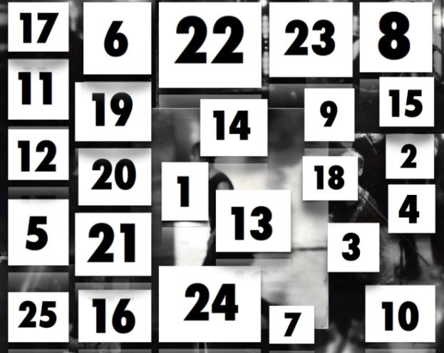 The Essential Advent Calendar: December 1