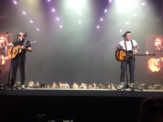 McFly at London's O2. Photo credit Emma Mages