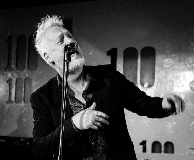 Stephen Jones Babybird live at the 100 Club November 2019