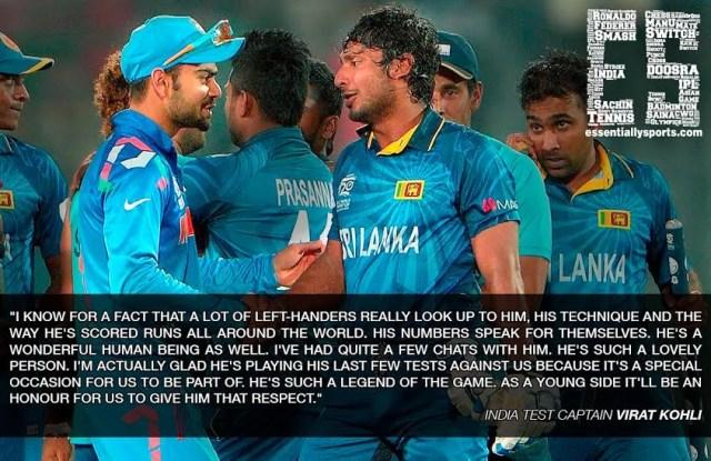 Quotes on Kumar Sangakkara