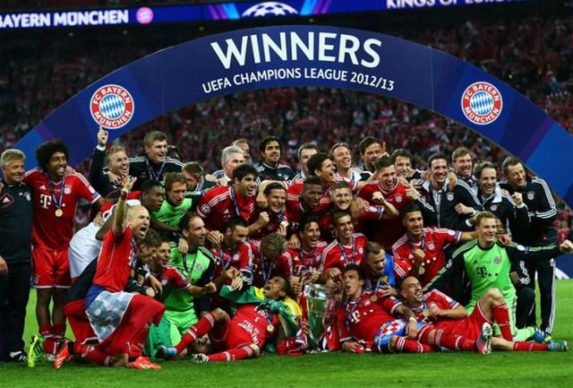 Bayern Munich, the German powerhouse team that won the 2013 Champions League
