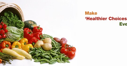 PRINCIPLES FOR HEALTHIER DIETING: Make Healthier Choices First