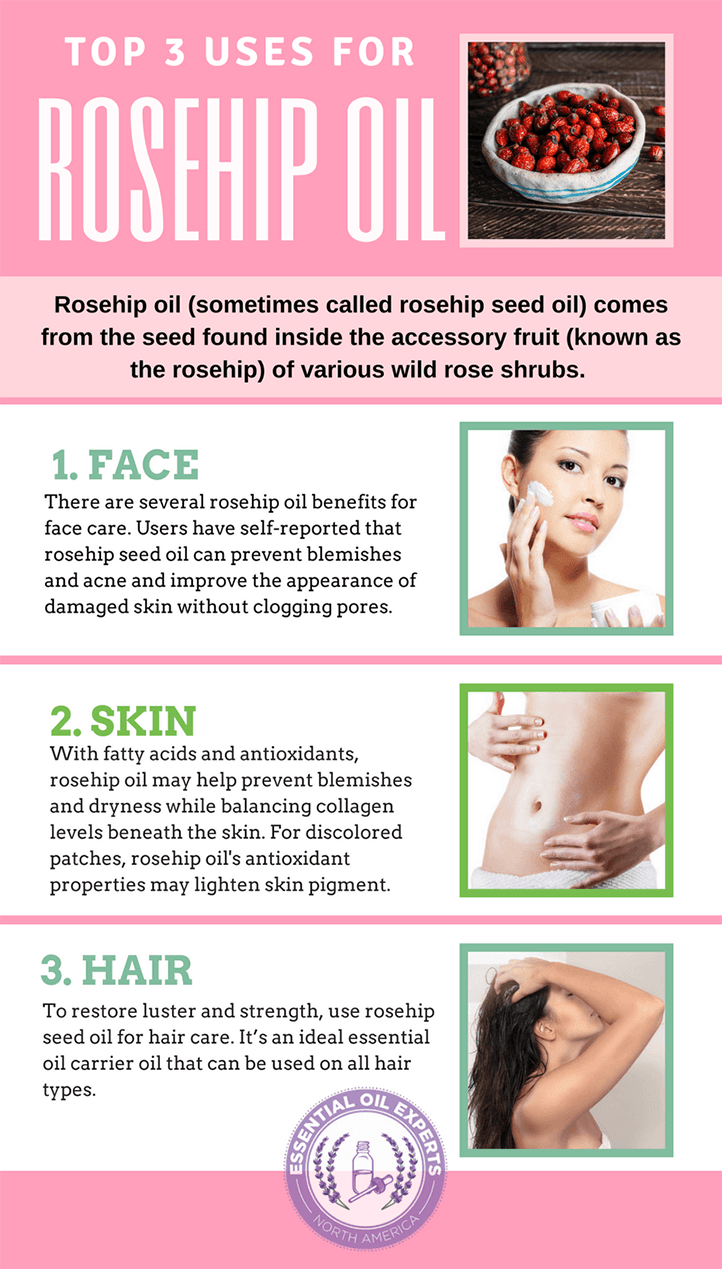Rosehip oil skin benefits including rosehip oil for stretch marks and rosehip oil acne scars.