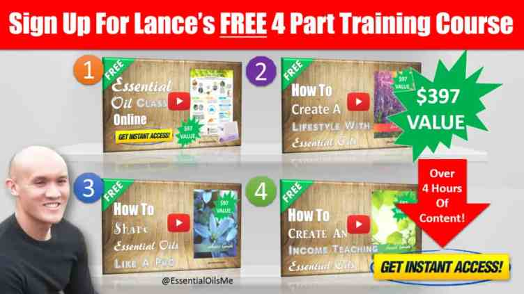 Lance's Free 4 Part Training Course Right Arrow
