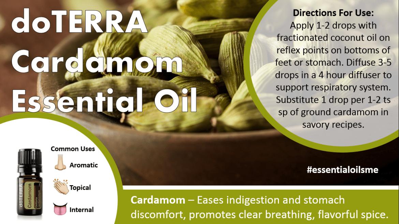 doterra cardamom essential oil
