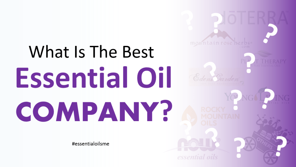 best-essential-oil-company
