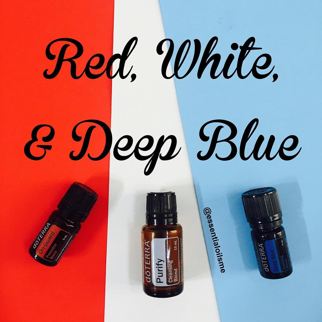 Red White And Deep Blue