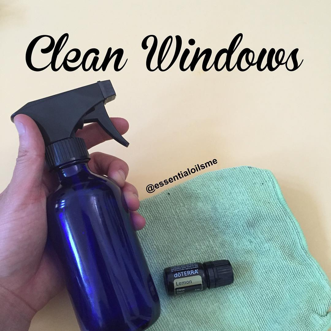 vinegar window cleaner