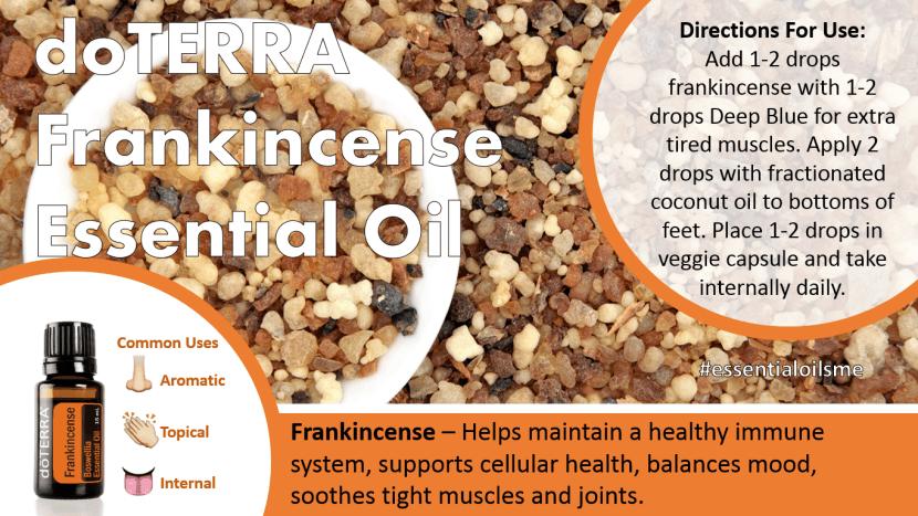 doterra frankincense essential oil