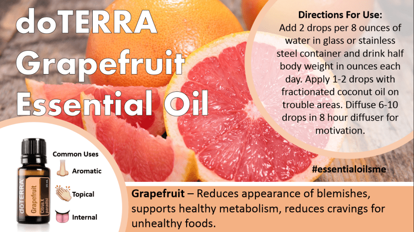 doterra grapefruit essential oil