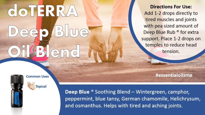 doterra deep blue oil blend