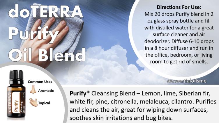doterra purify oil blend