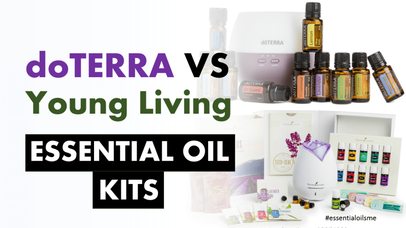 doterra vs young living essential oil kits